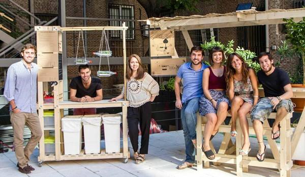 Agronautas impulsa en el centro de innovación social La Noria un laboratorio de autoconstrucción