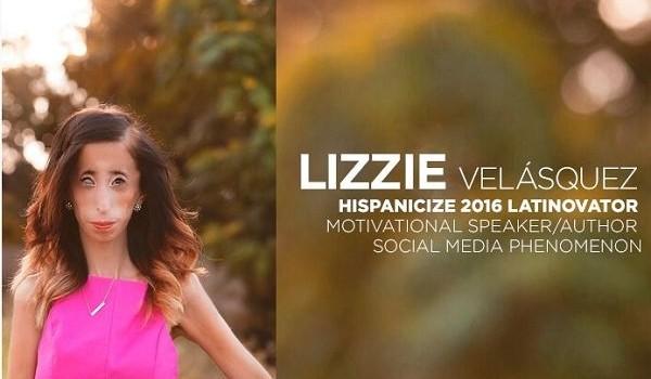 Otorgan a Lizzie Velásquez primer premio Latinovator Hispanicize 2016